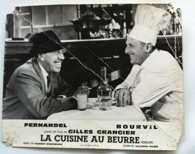 6 photos d'exploitation du film LA CUISINE AU BEURRE (1963)