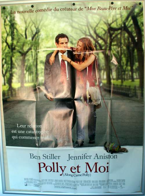 47 X 63 Movie Poster From Along Came Polly 2004