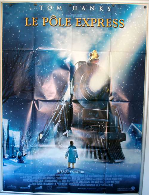 47 X 63 Movie Poster From The Polar Express 2004