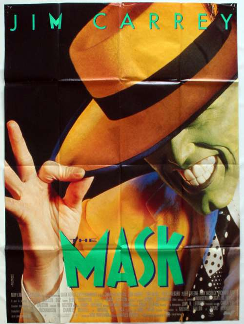 47 X 63 Movie Poster From The Mask 1994