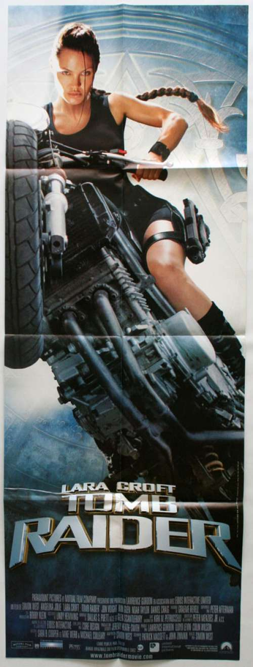 47 X 63 Movie Poster From Tomb Raider 2001