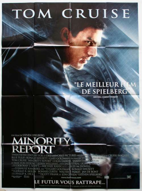 47 X 63 Movie Poster From Minority Report 2002
