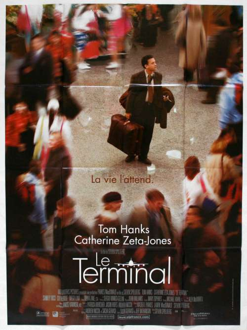 47 X 63 Movie Poster From The Terminal 2004