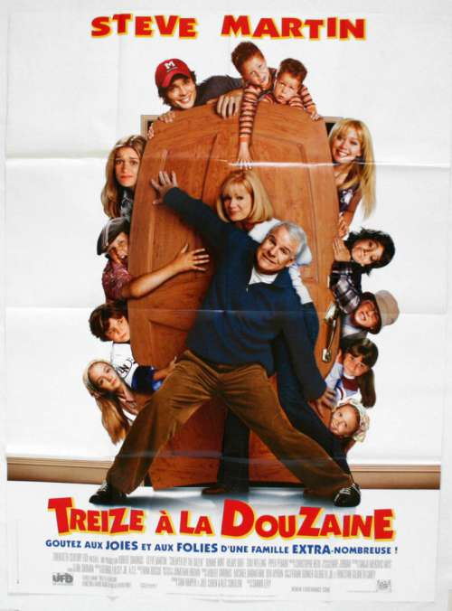 47 X 63 Movie Poster From Cheaper By The Dozen 2003