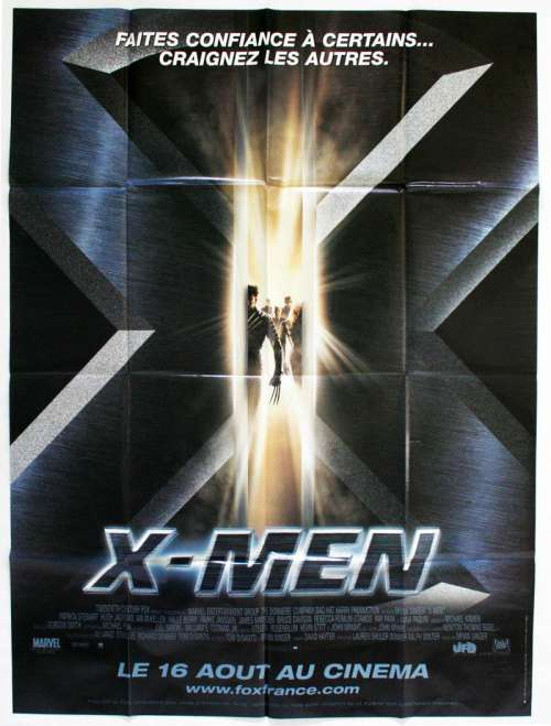 47 X 63 Movie Poster From X Men 2000
