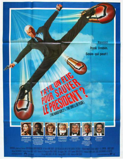 Y a-t-il un flic pour sauver le président ? - film 1991