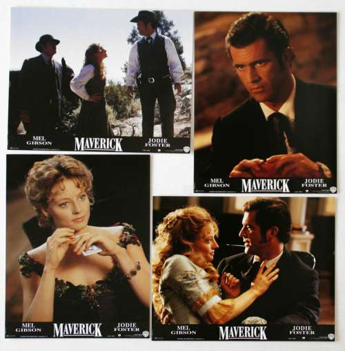 8 Movie Stills From Maverick 1994