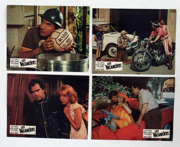 8 Movie Stills From Les Vacanciers 1974