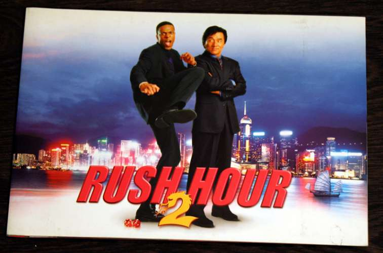 Press Kit From Rush Hour 2 2001